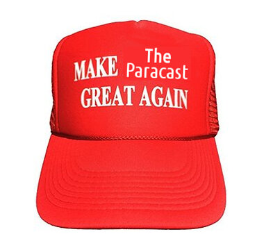 Paracast great again hat.jpg